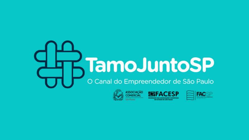 Imagem da campanha Tamo Junto SP